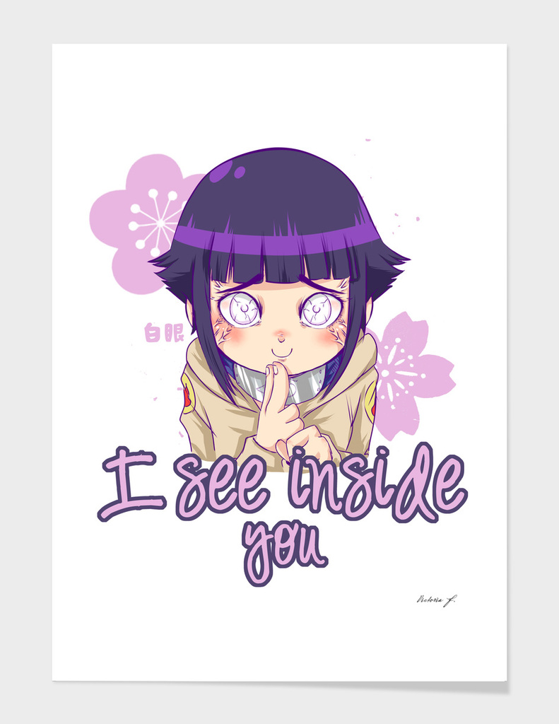 I can see inside you