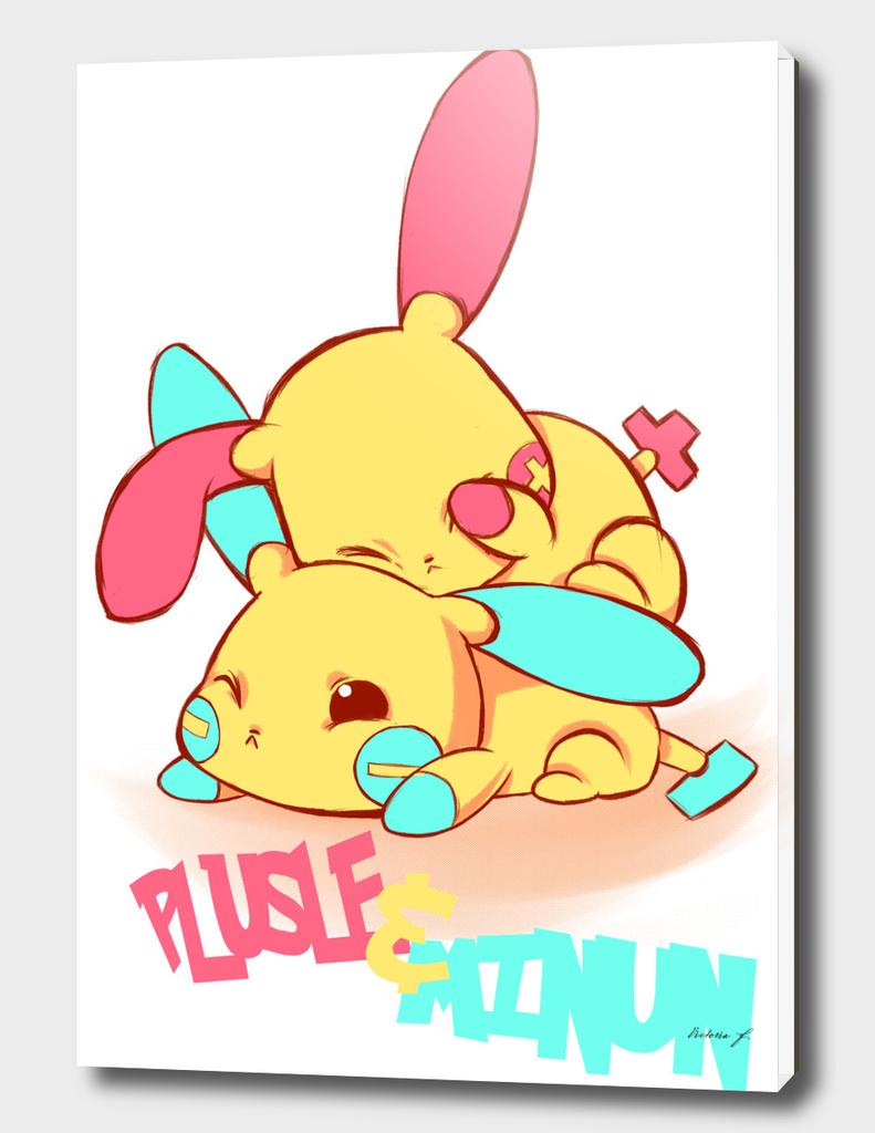 Plusle & Minun