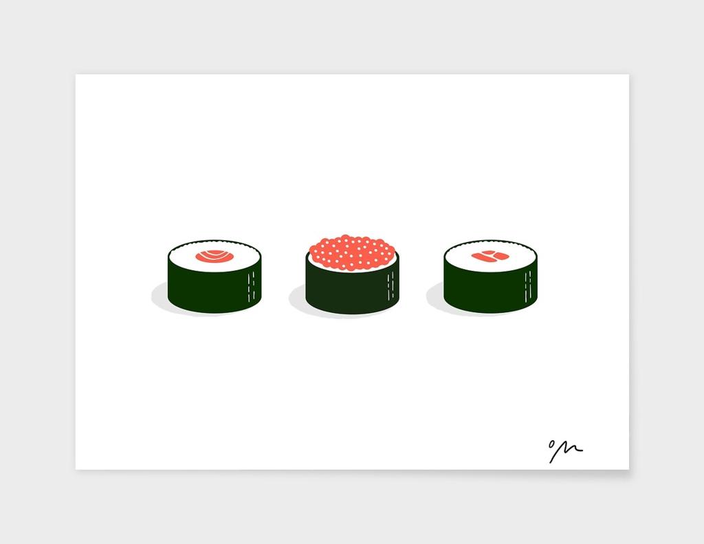 Three Sushi