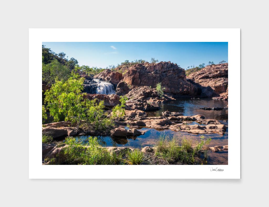 Australian Landscape at Edith Falls, Top End, Australia