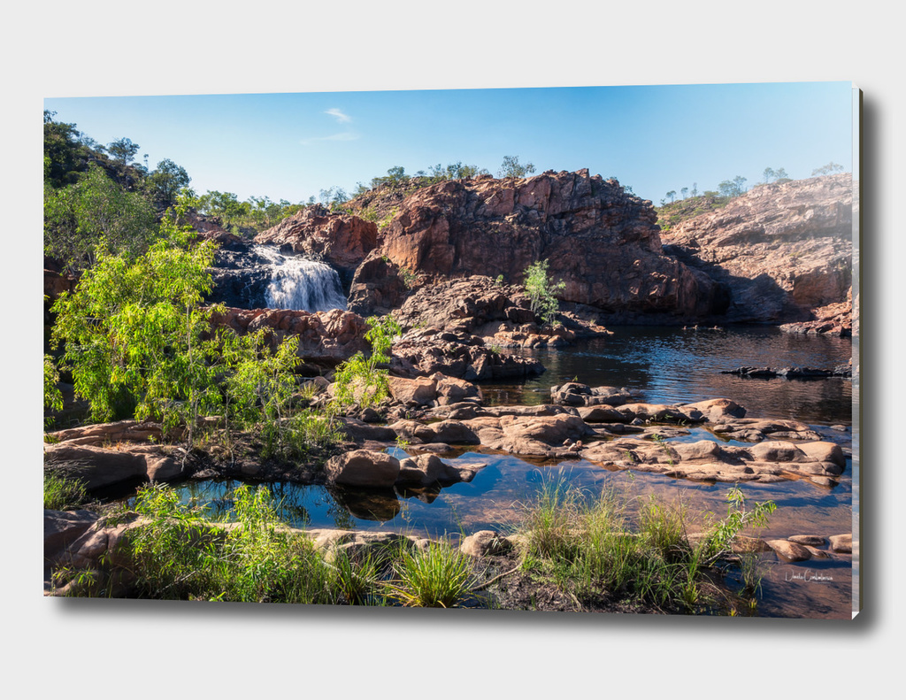 Australian Landscape at Edith Falls, Top End, Australia