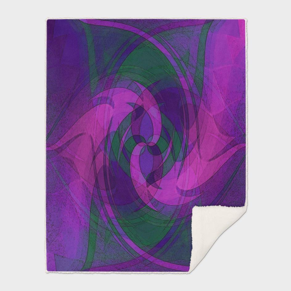 Purple Dragon Swirl