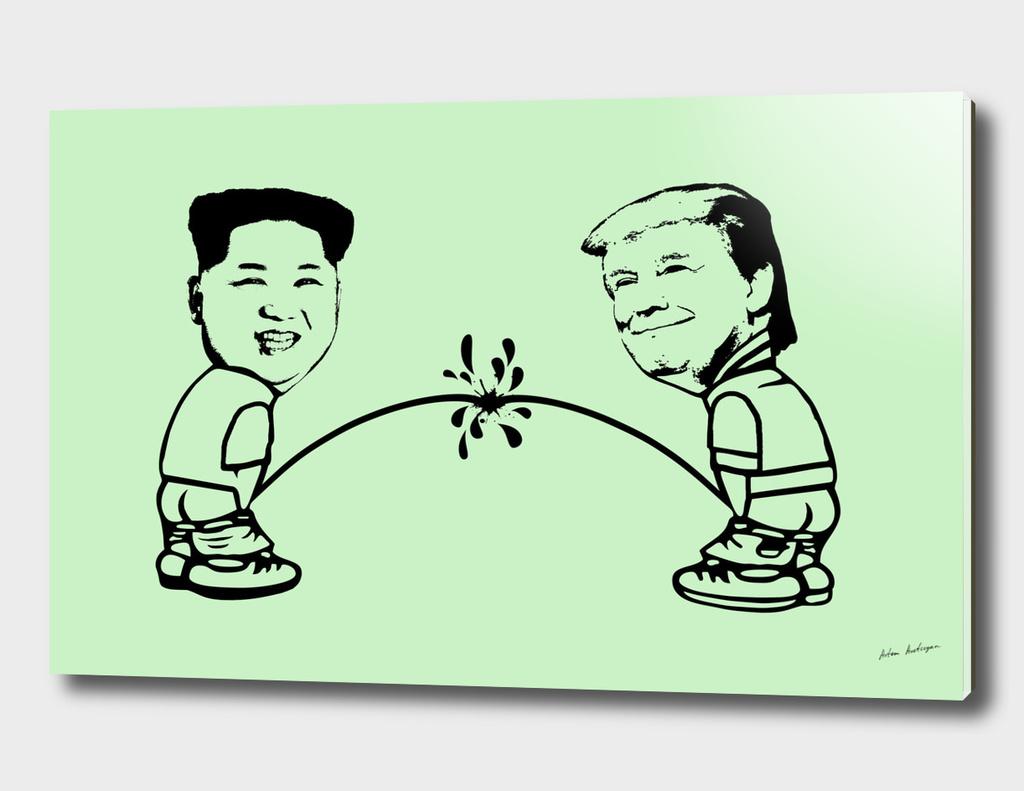 Donald vs. Kim