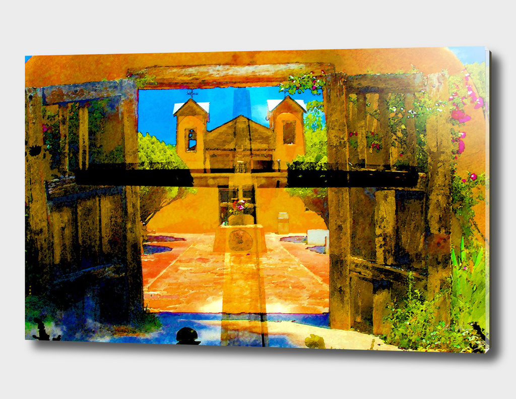 Chimayo church 1816