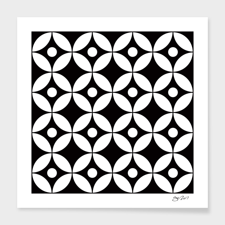 Geometric Pattern #167 (circles dots)