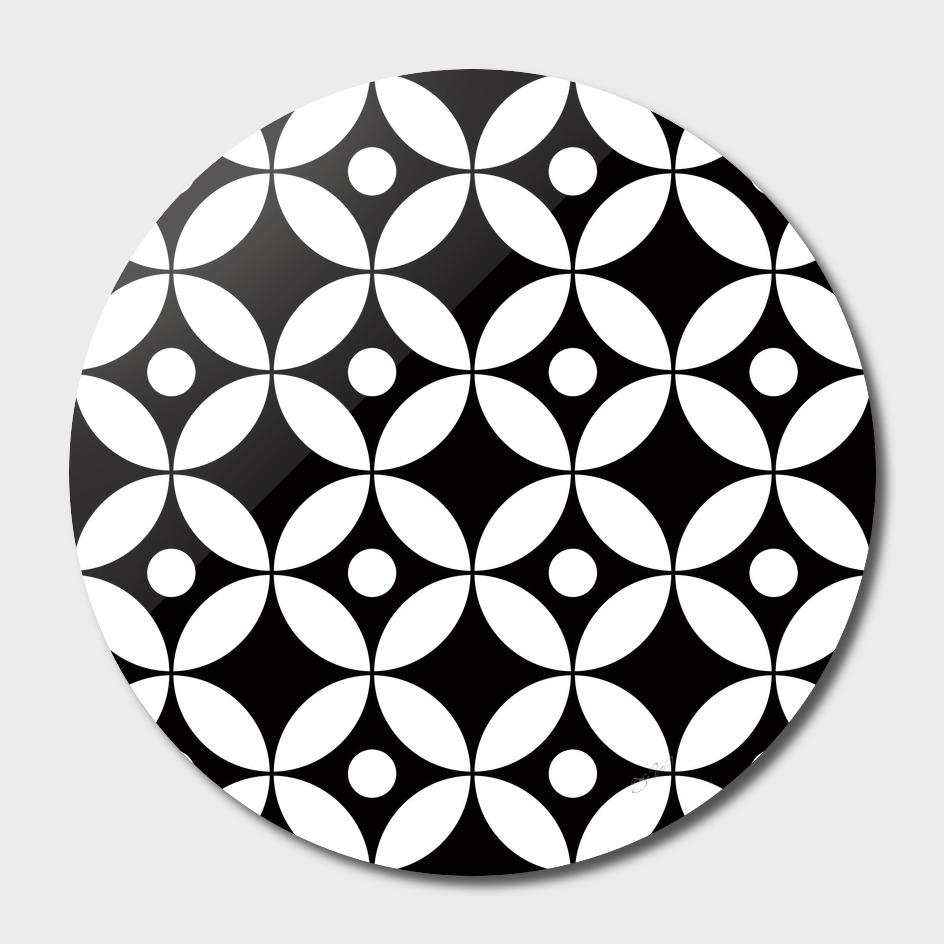 Geometric Pattern #167 (circles dots)