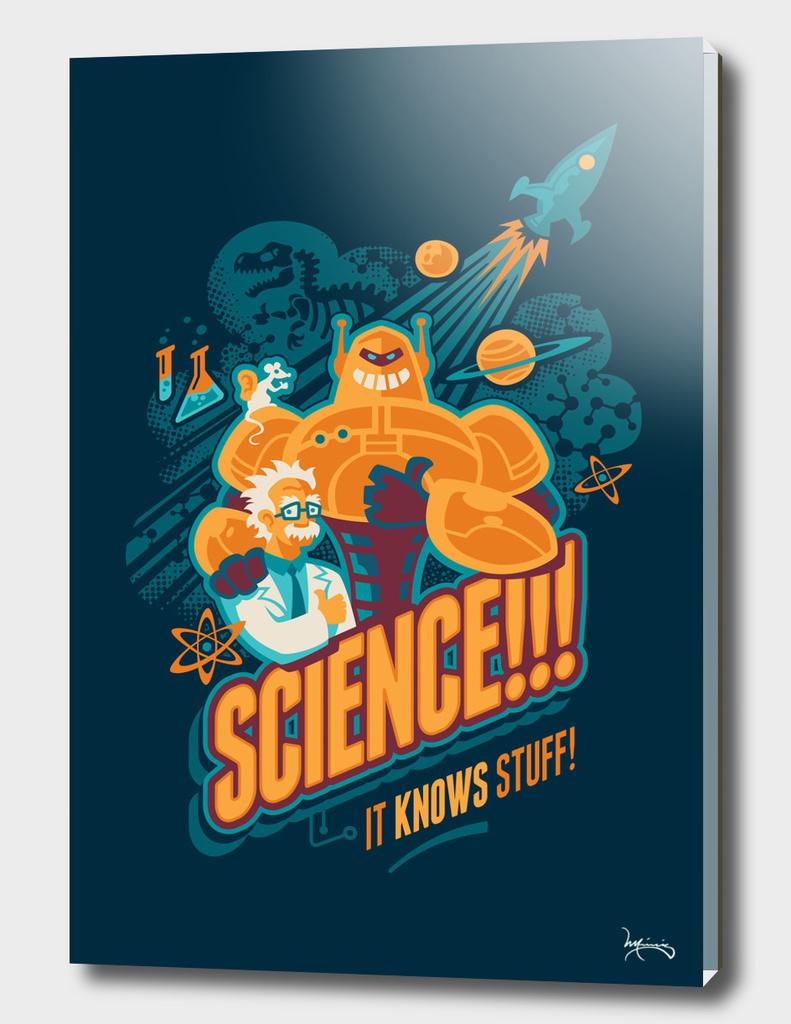 Science!!! It Knows Stuff!