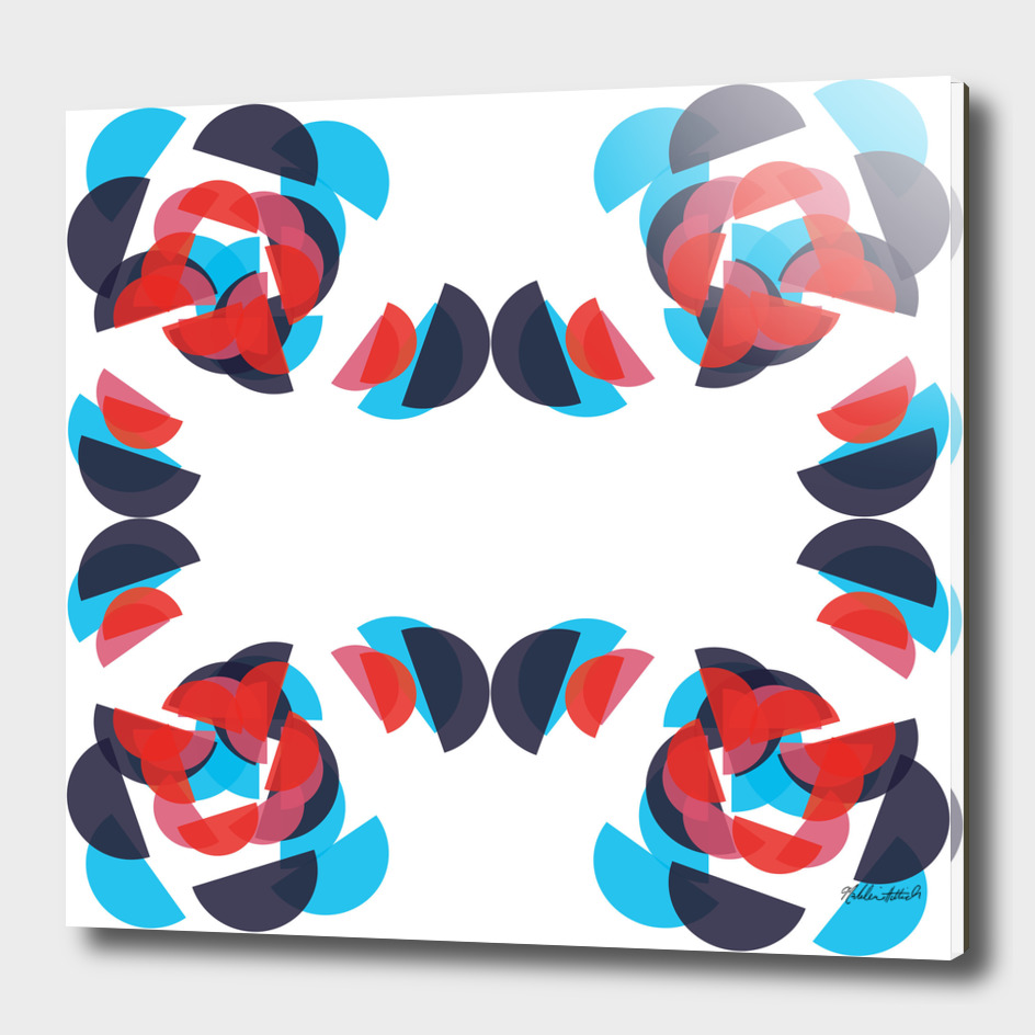 Graphic Kaleidoscope Design 8