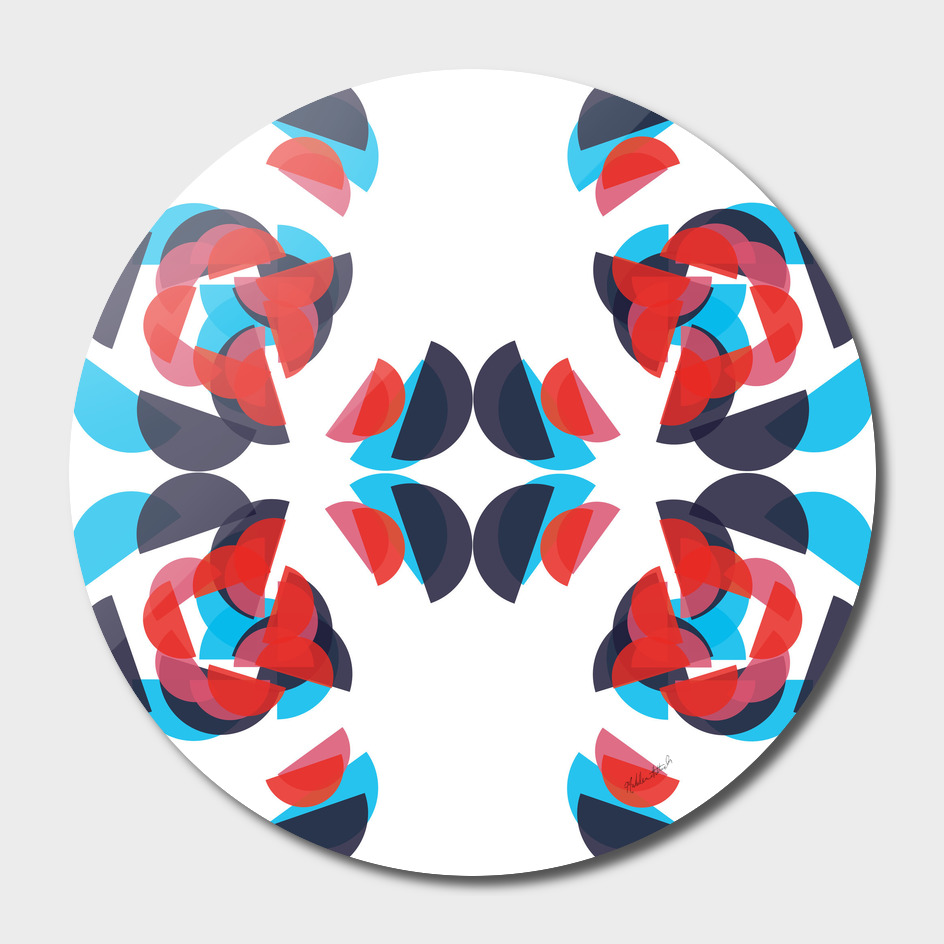 Graphic Kaleidoscope Design 9