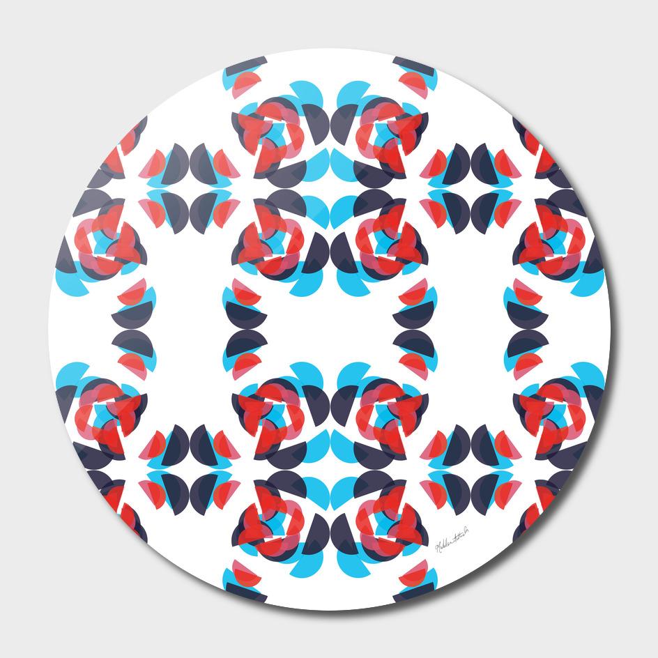 Graphic Kaleidoscope Design 10