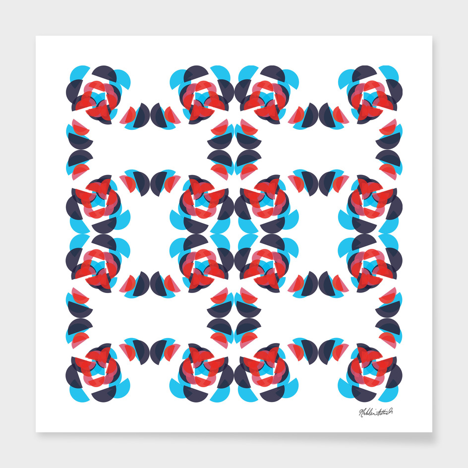 Graphic Kaleidoscope Design 11