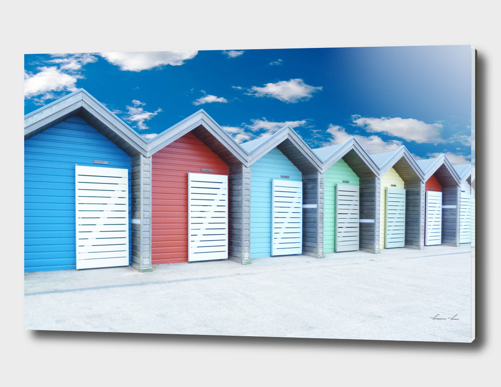 Beach huts - Northumberland