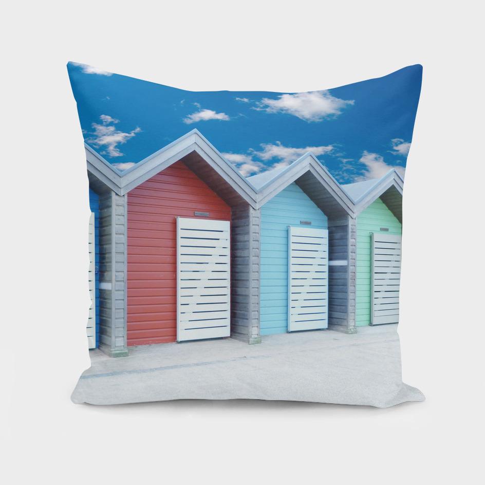 Beach huts - Northumberland