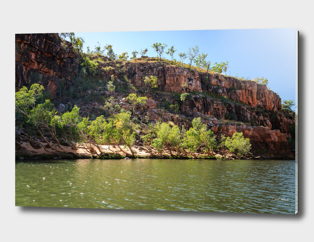 Cruising on the Katherine River Gorge, Australia