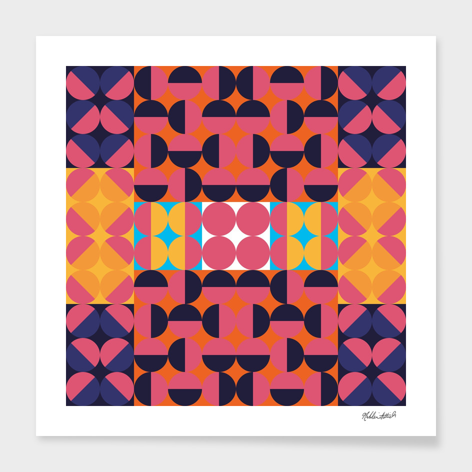 Graphic Kaleidoscope Design 12