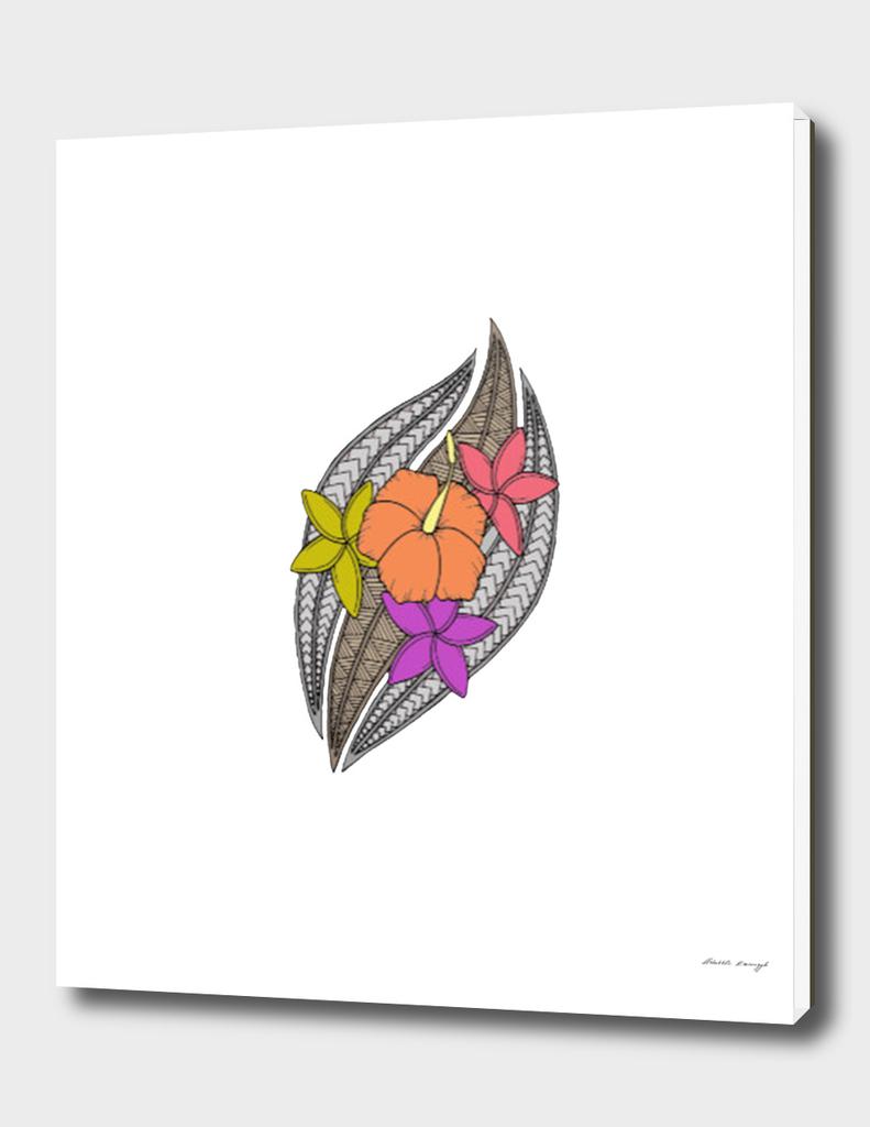 Flowers on Wicker a