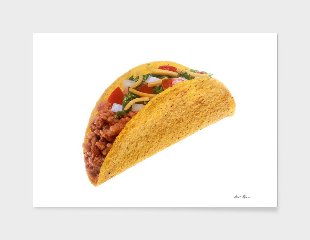 Hard Shell Taco Photograph
