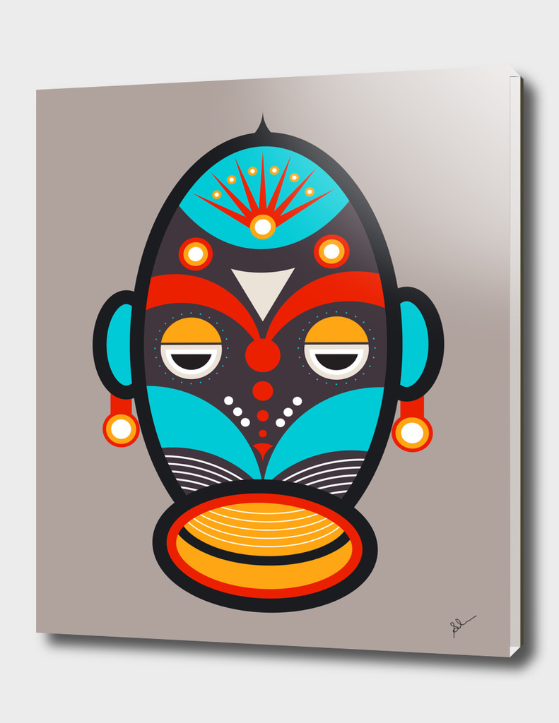 African Traditional Tribal Mask