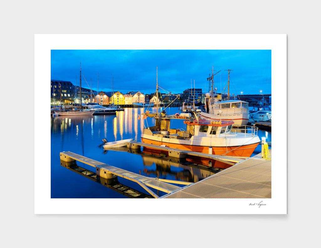 Norway port scene