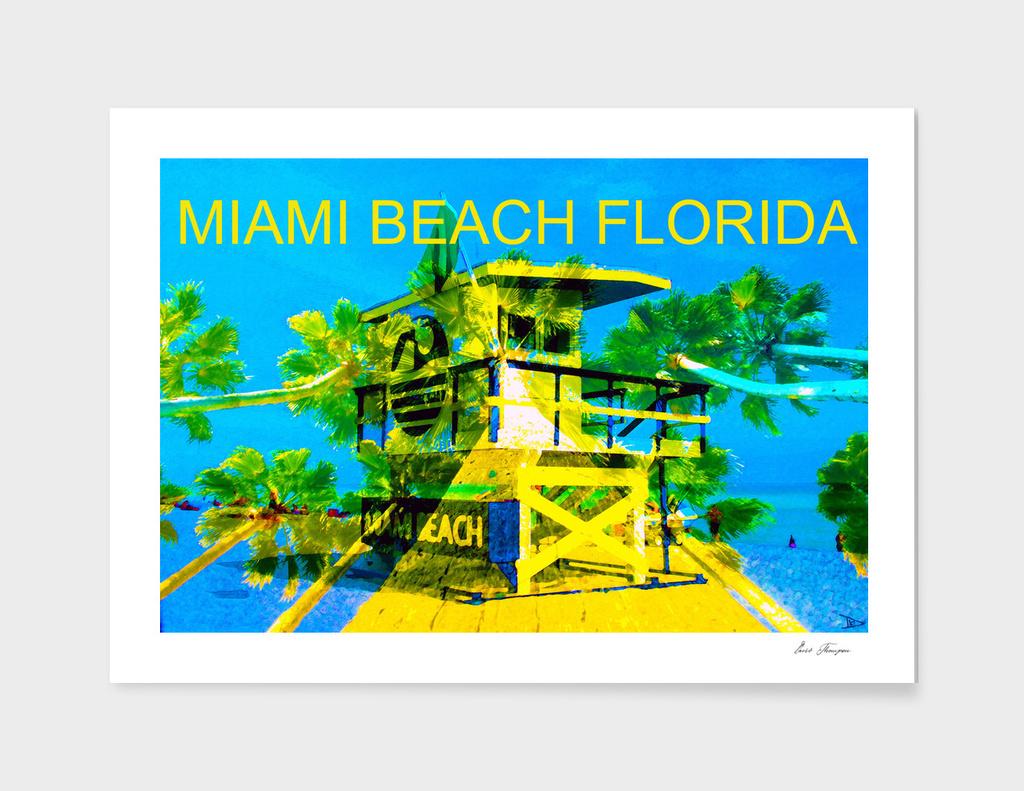 Art Deco Miami Beach 1960s