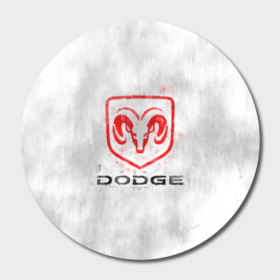 Dodge logo sketch