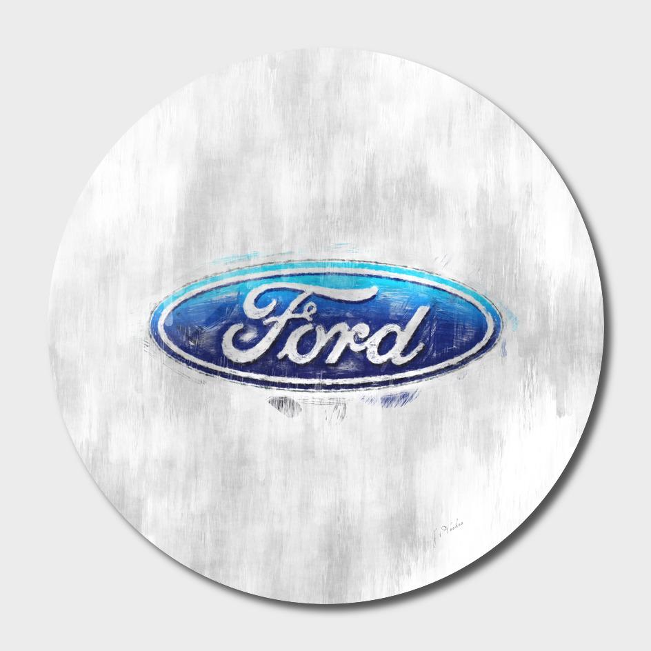 Ford logo sketch