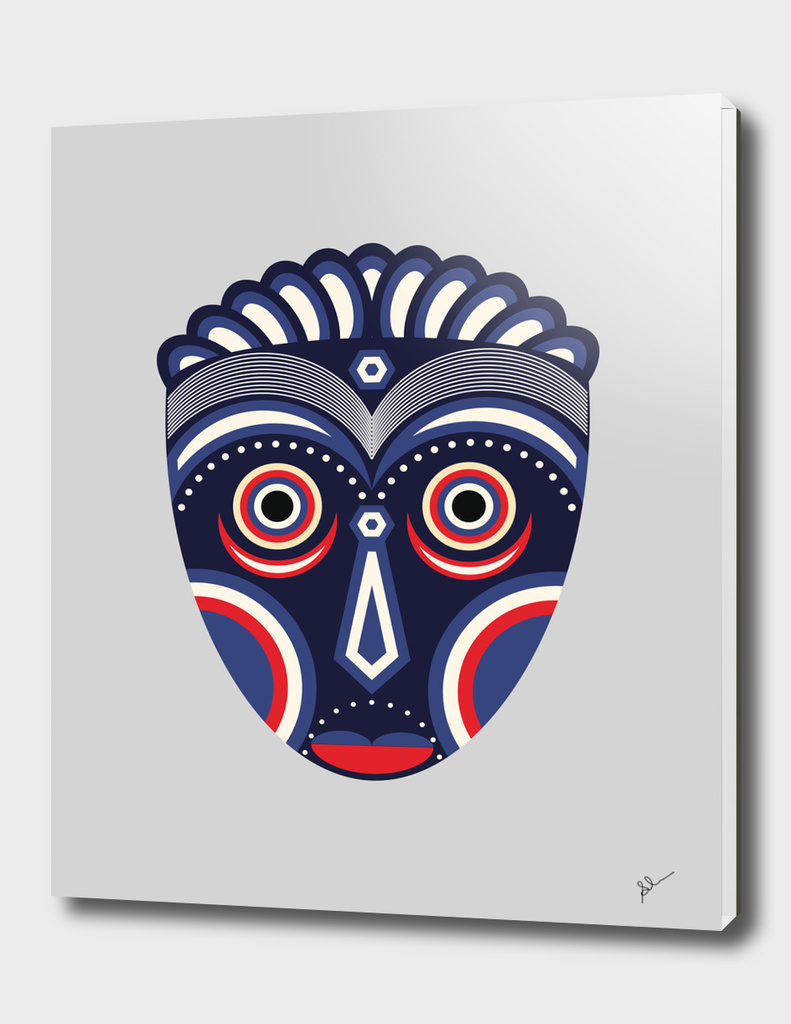 Lulua Ethnic Tribal Mask