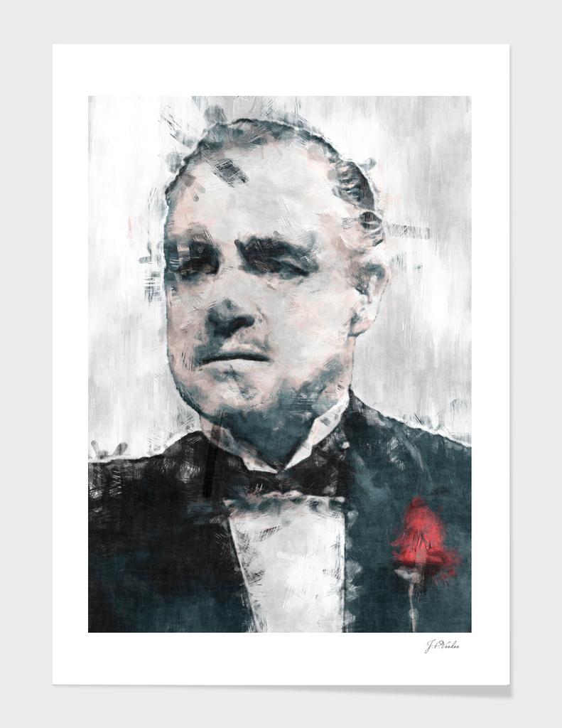 """Vito Corleone """"The Godfather"""" sketch"""