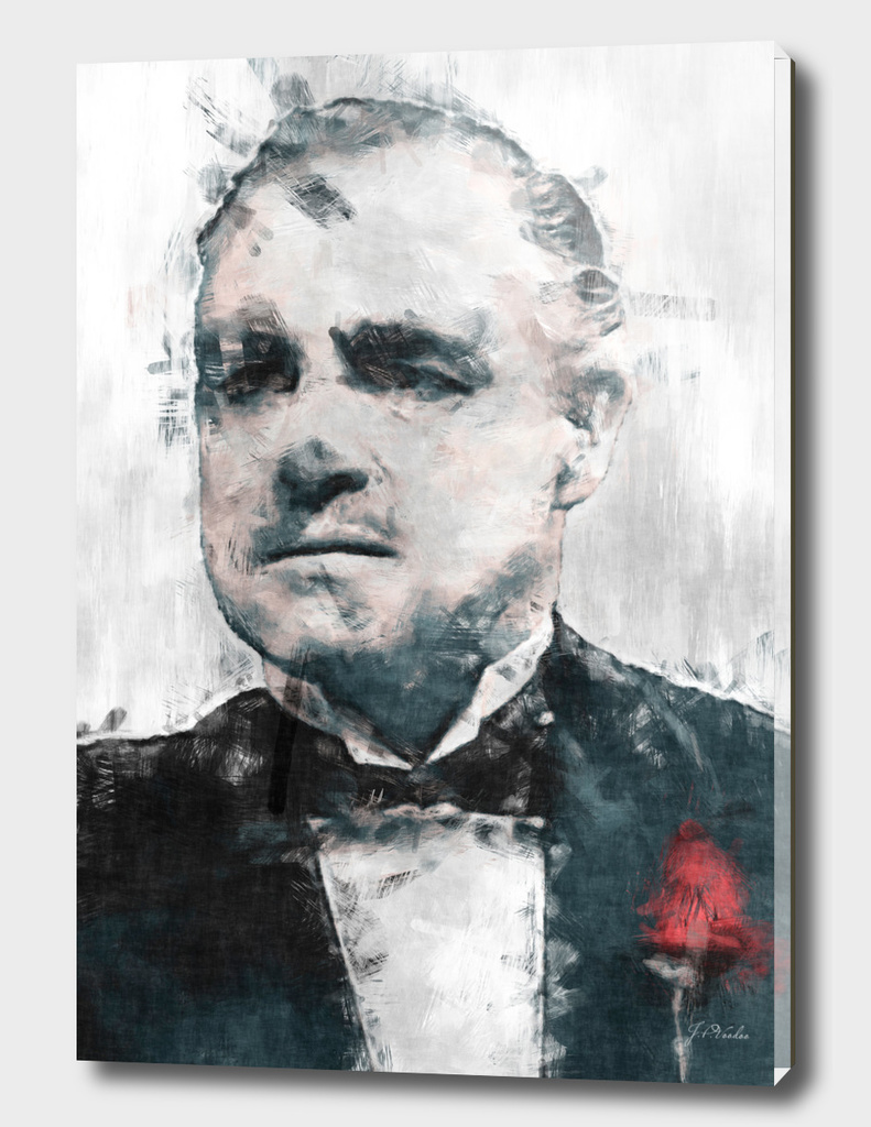 "Vito Corleone ""The Godfather"" sketch"