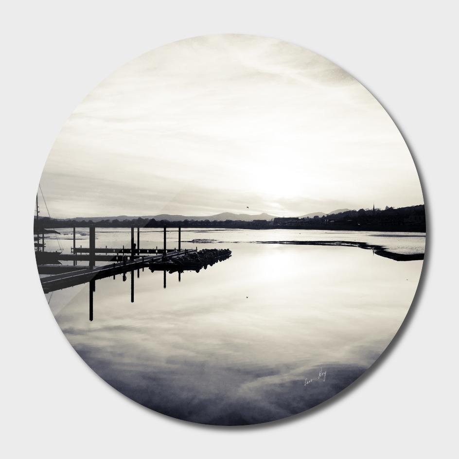 Pwllheli Marina - Mirror Reflection 02