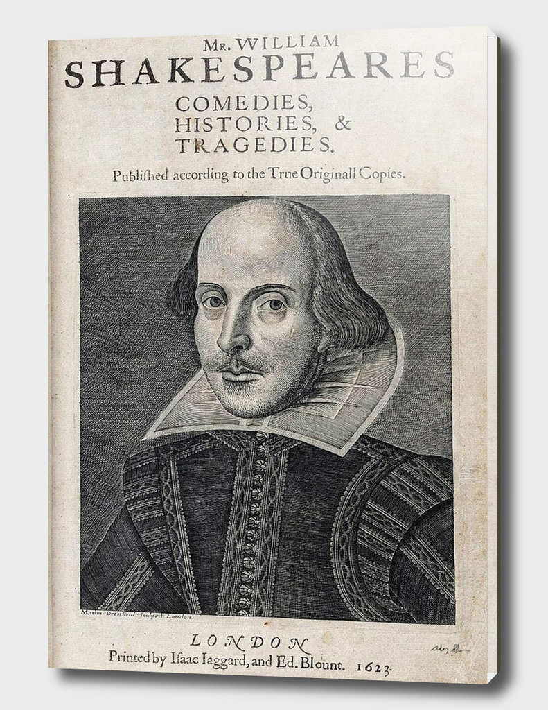 Vintage William Shakespeare Portrait