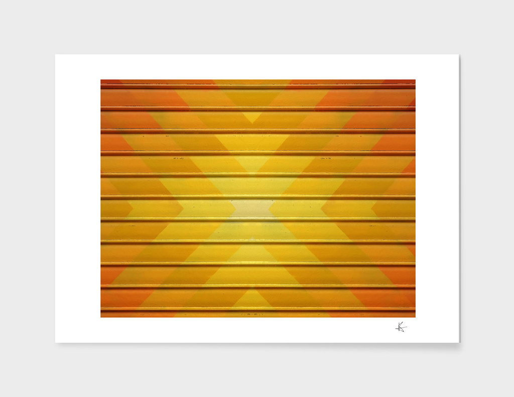 fall geometric pattern