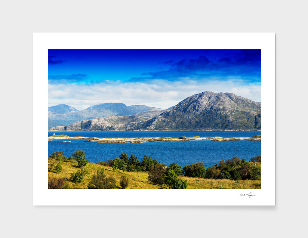 Classic Norway landscape