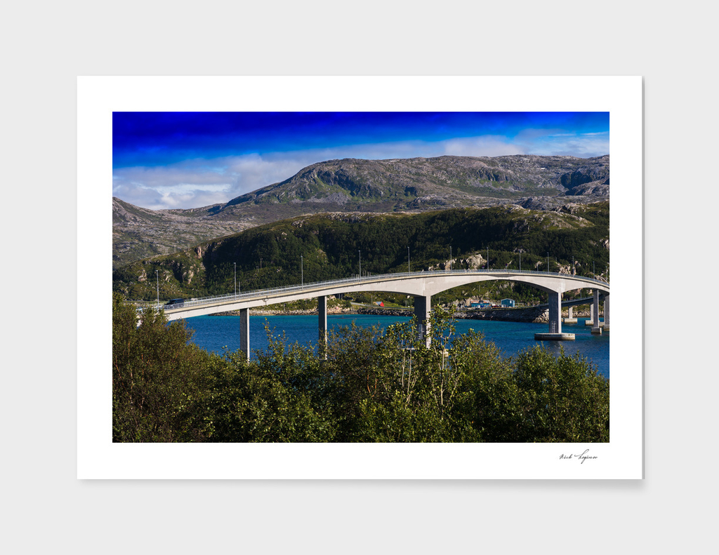 Classic Norway bridge