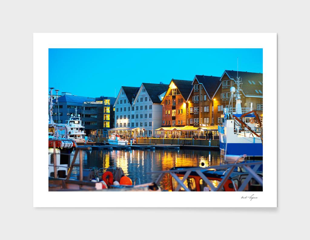 Tromso classic architecture cityscape