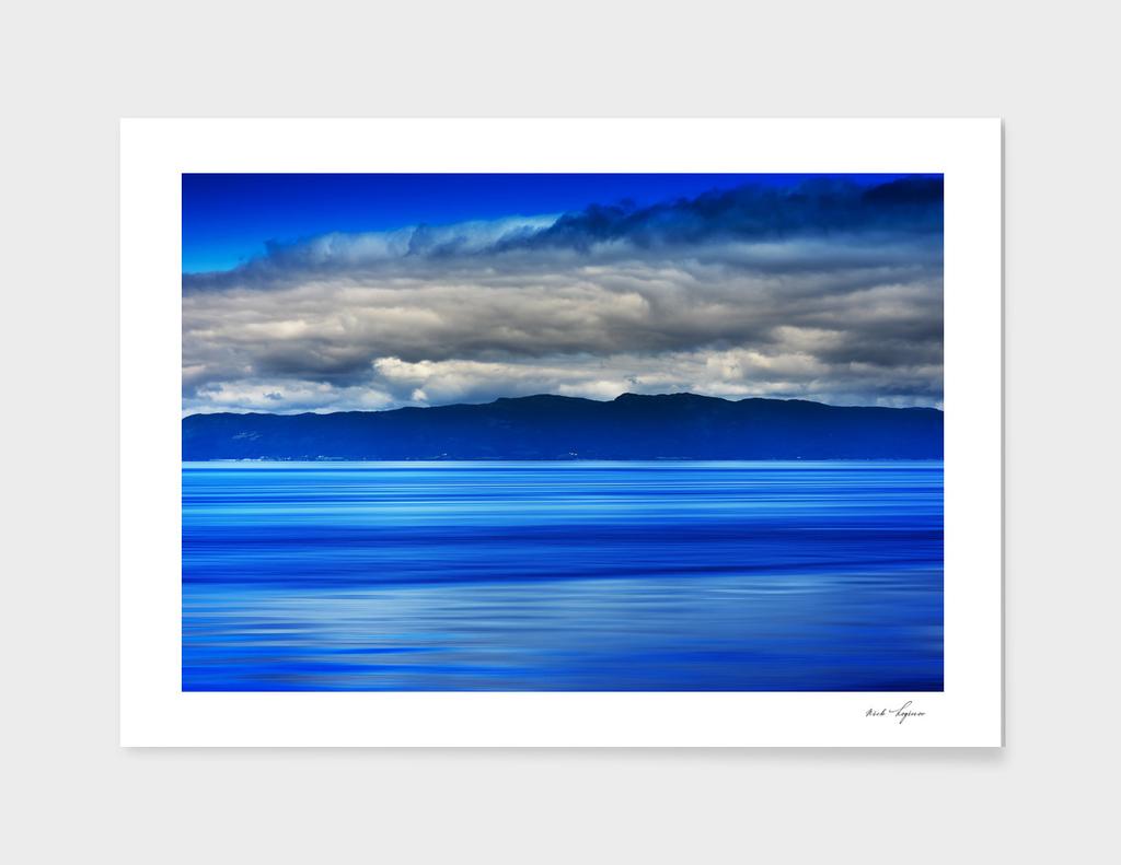 Dramatic ocean surface