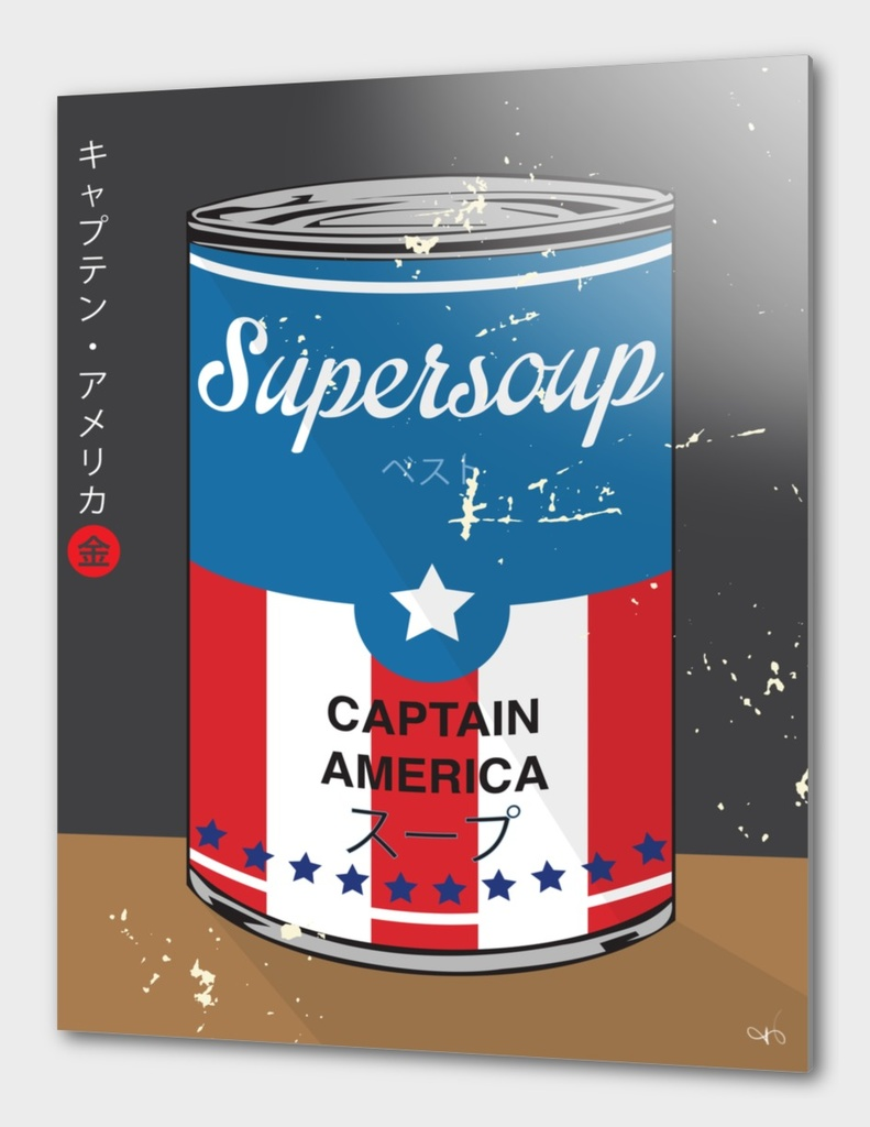 Captain America - Supersoup Series