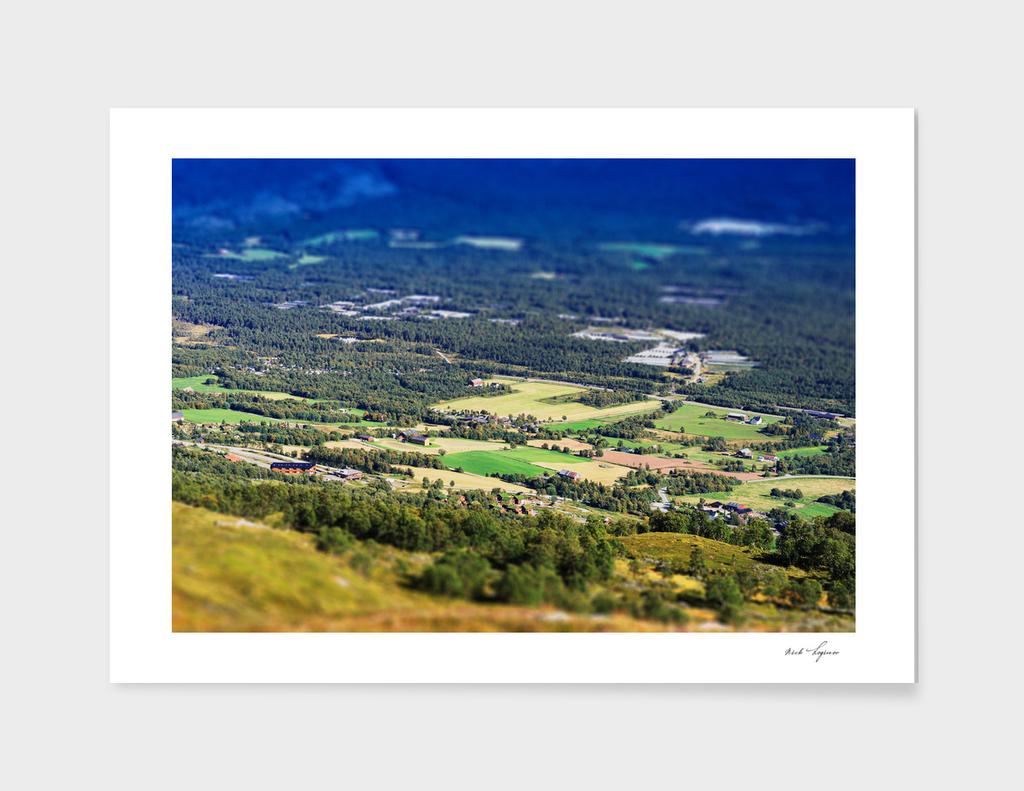 Mountain calm valley