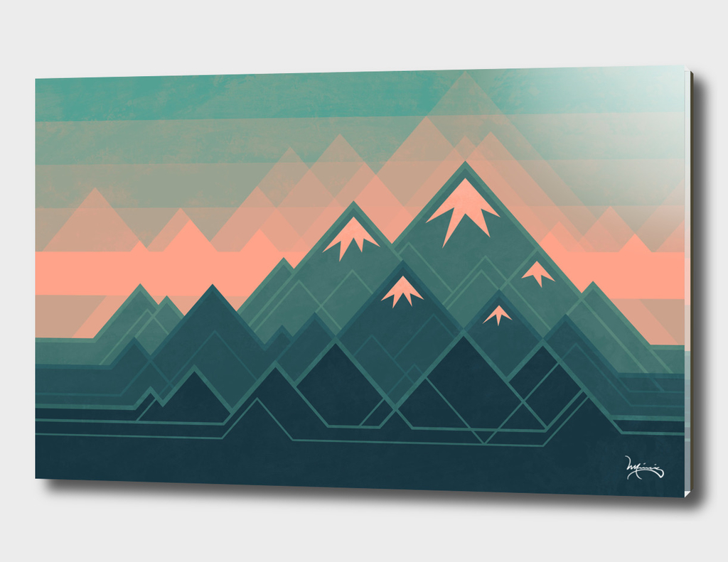 Geometric Mountains