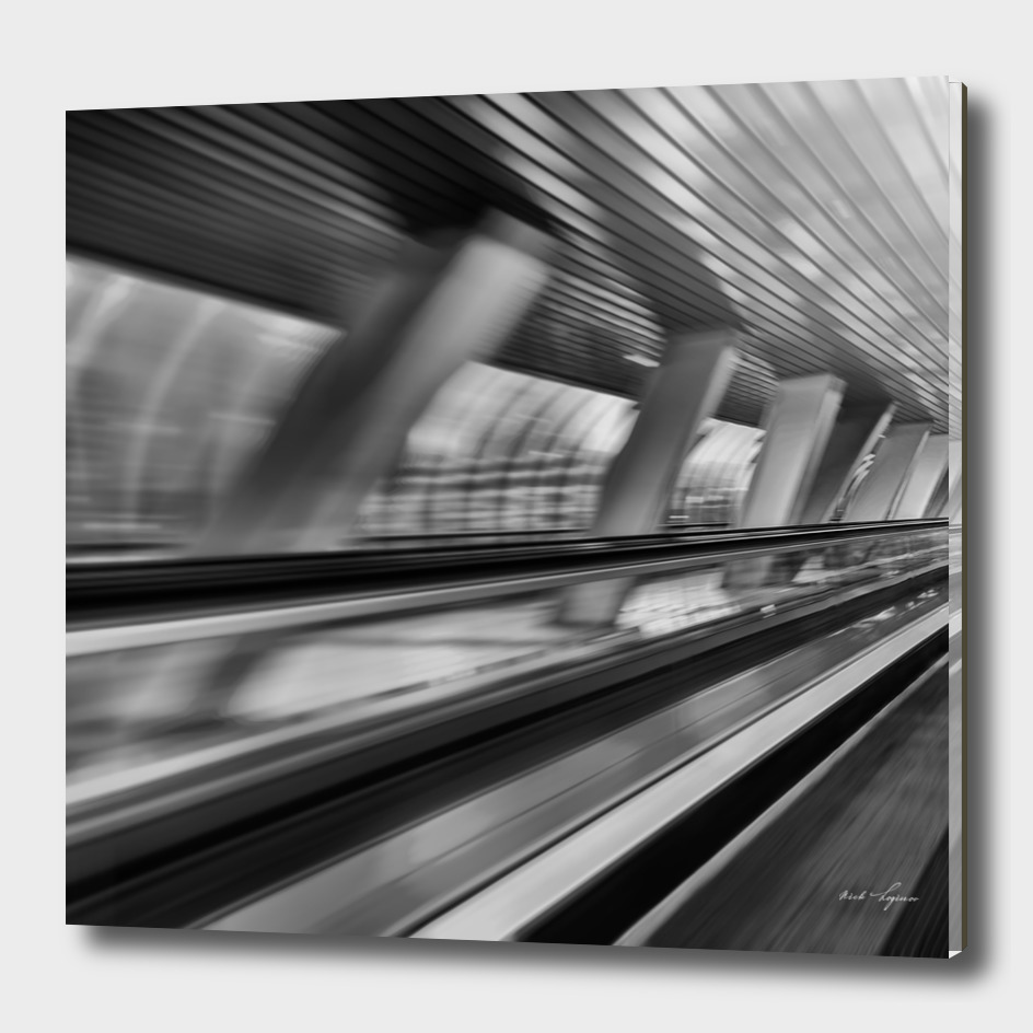 Abstract city motion