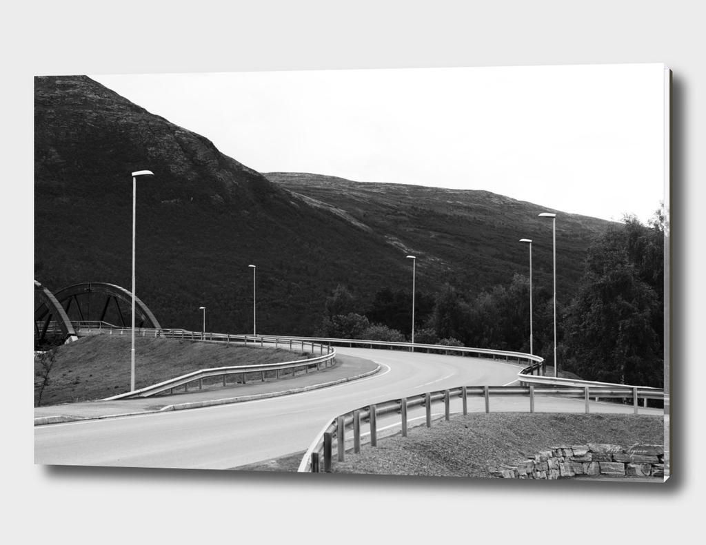 Empty Scandinavian street