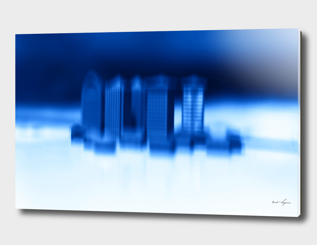 Abstract office buildings