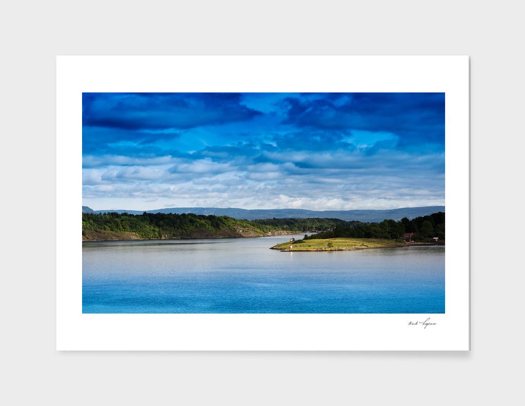 Northern islands landscape