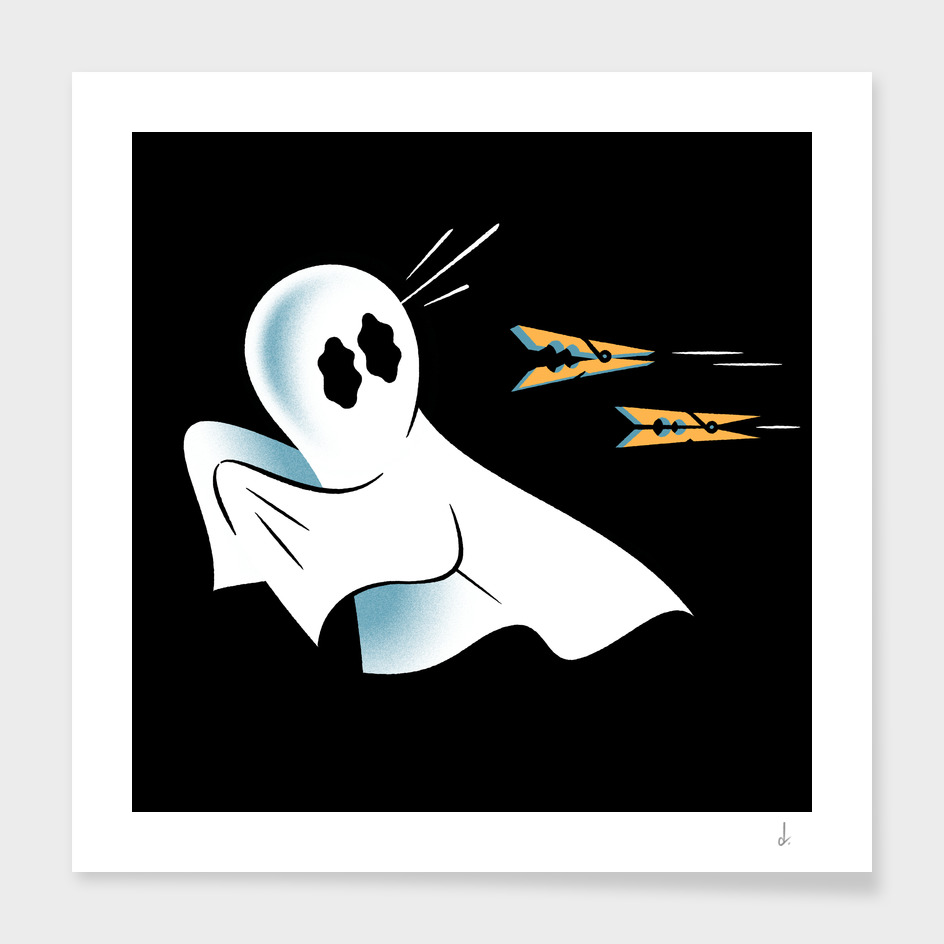 A Fearful Phantom (Black)