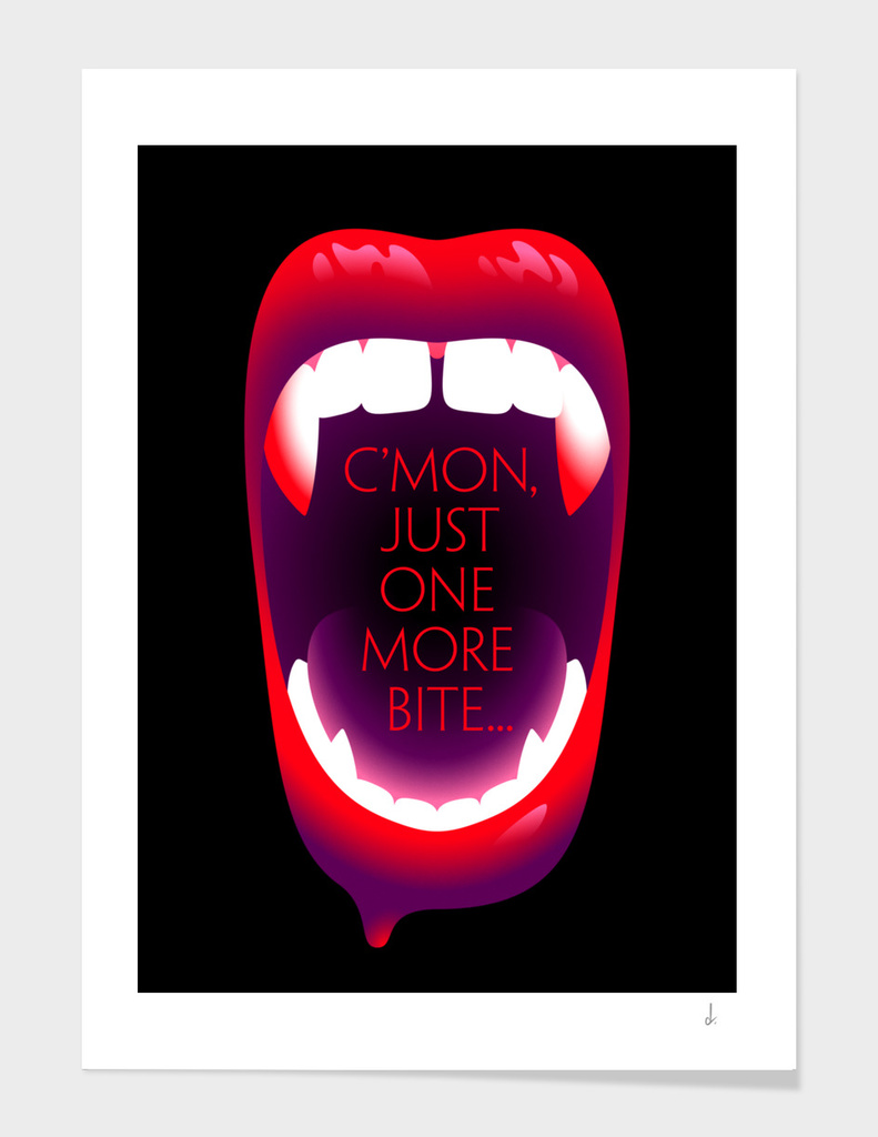 One More Bite (Black)