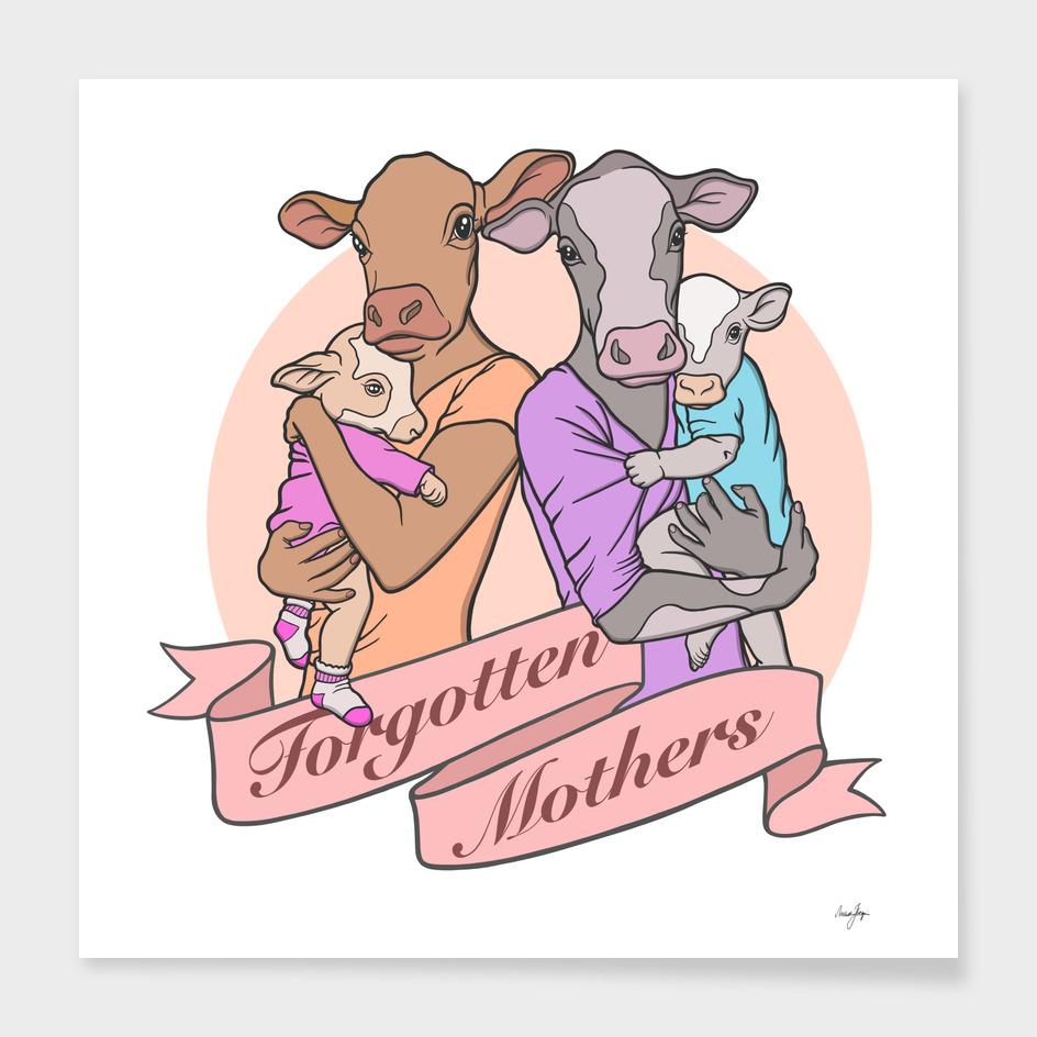 Forgotten Mothers Vegan Art (Colored Version)