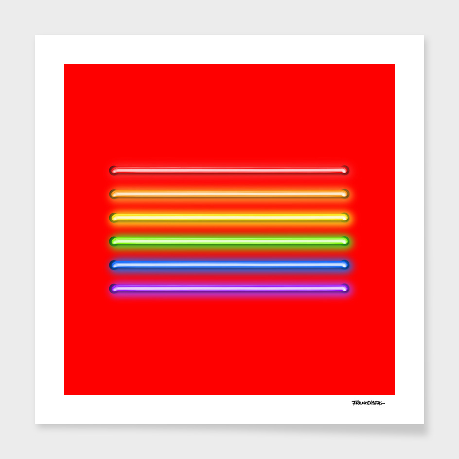 Flag Equality - red