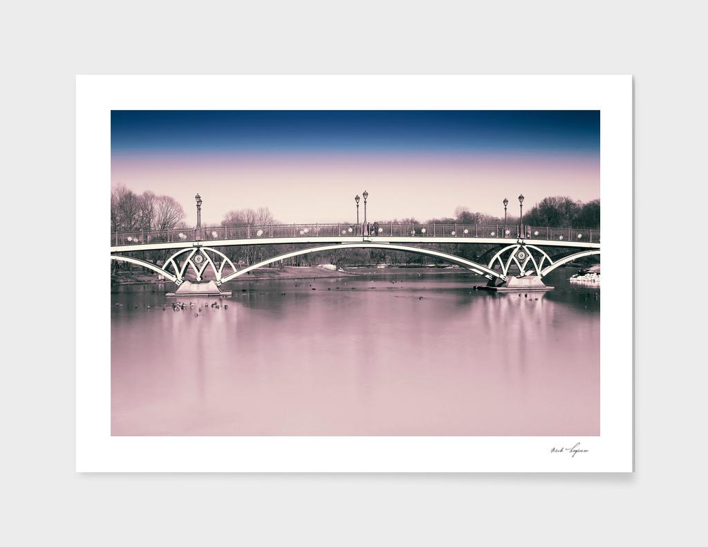 Dramatic bridge