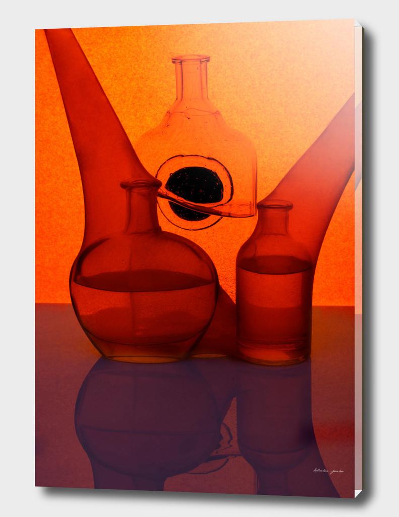 Etude in orange tones