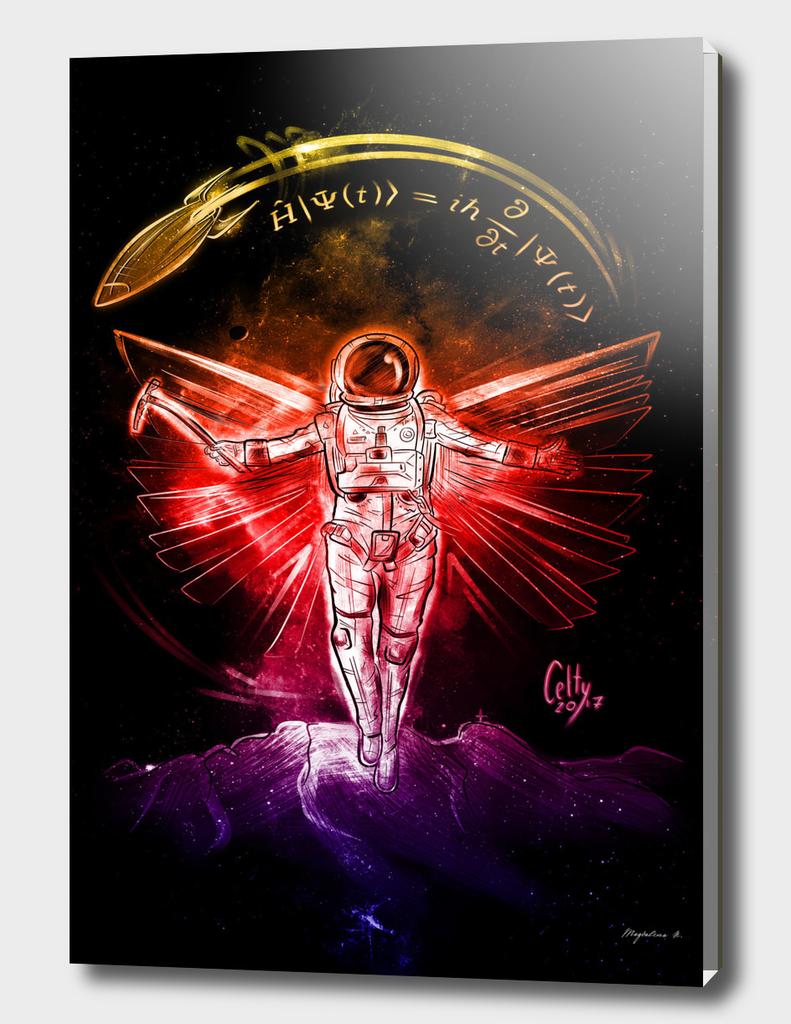 Galaxy cosmonaut